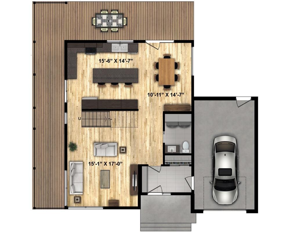 Timber Block Monterey Floor Plan Main