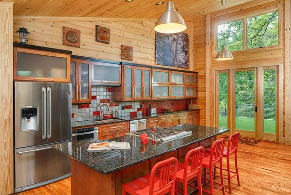 Timber Block custom kitchen