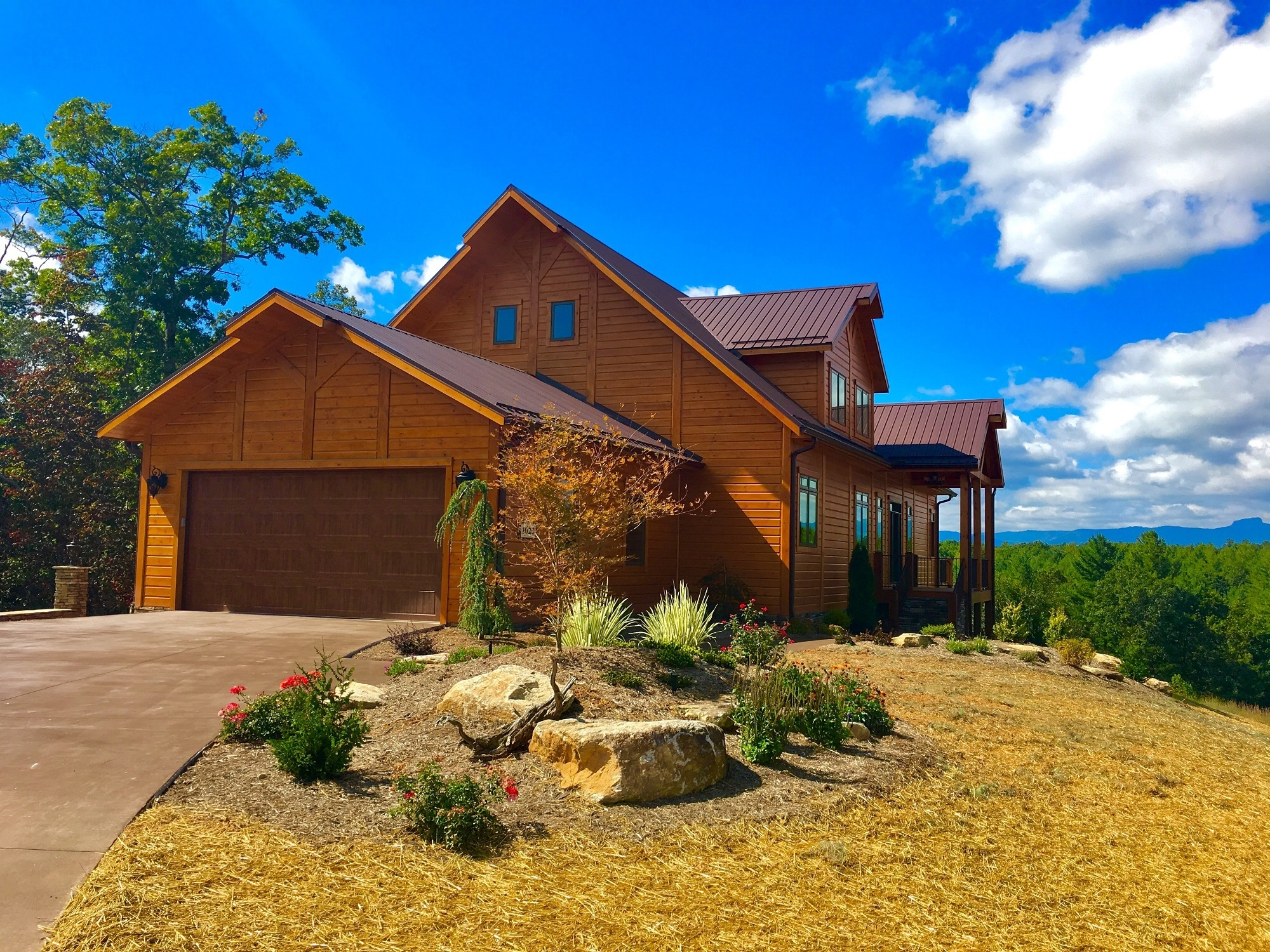 Timber Block Building custom home