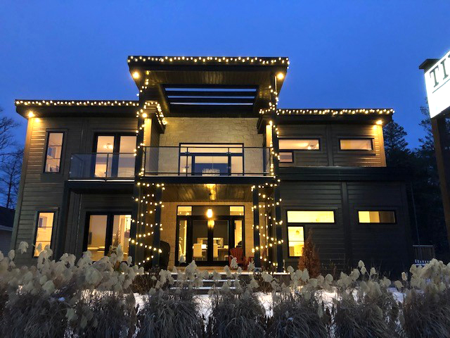 Timber Block Innisfil Ontario Model Home