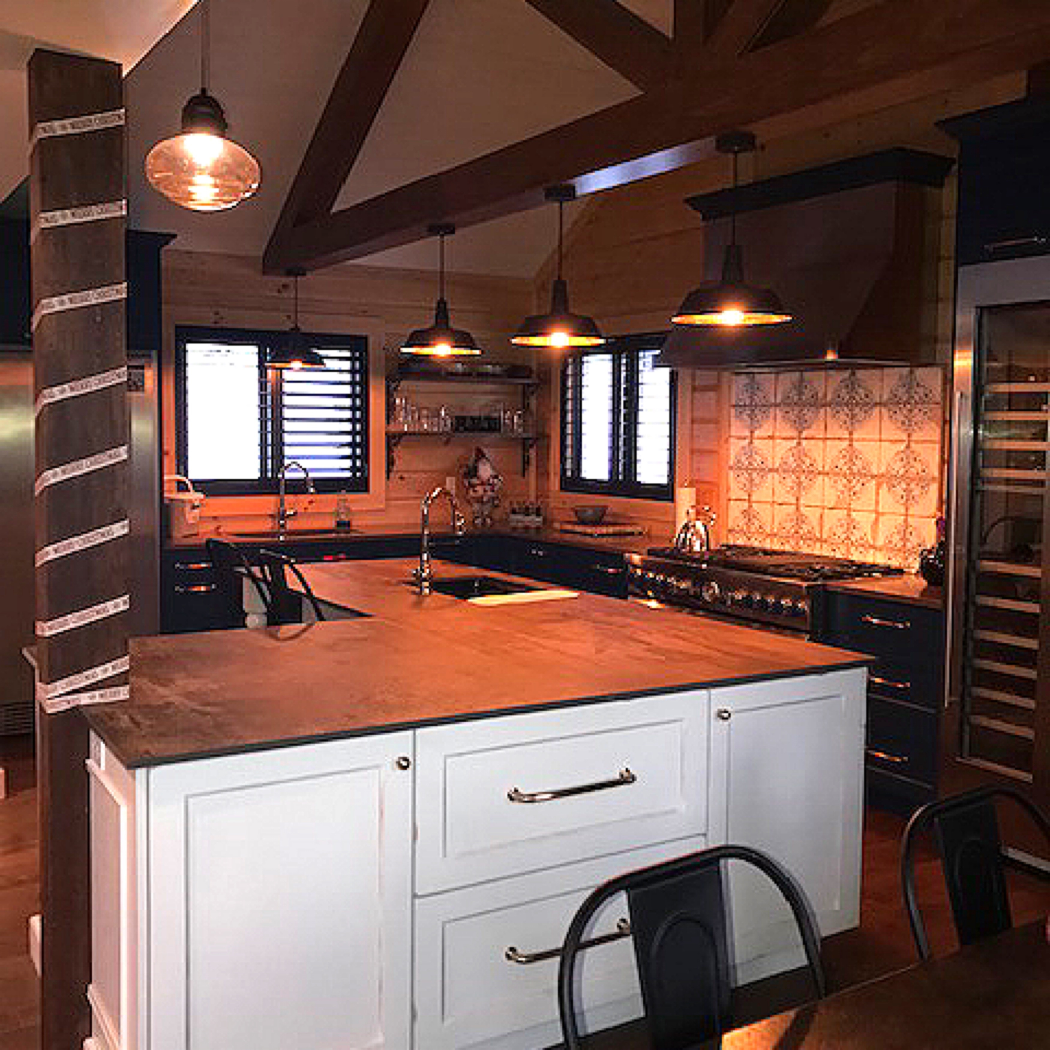 Timber Block Dakota Kitchen
