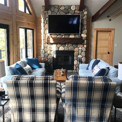 Timber Block Dakota Living Room