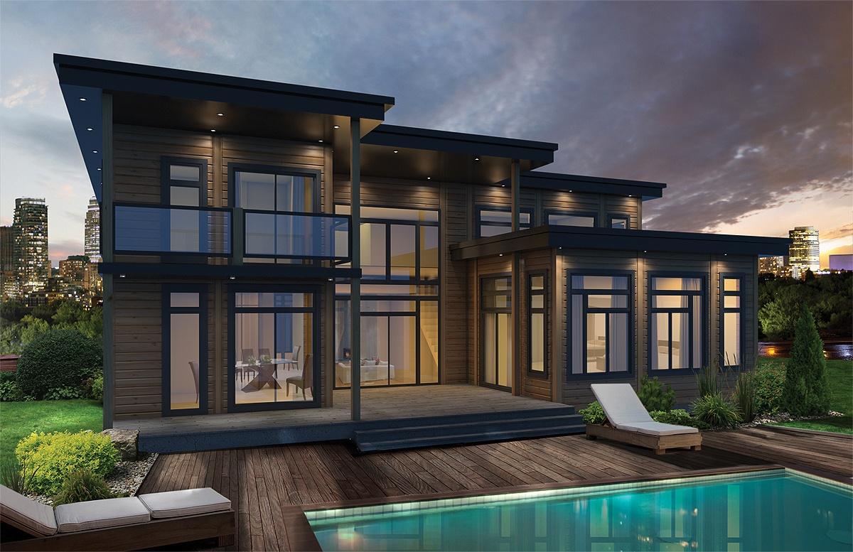 Timber Block Talk: Contemporary Home Design