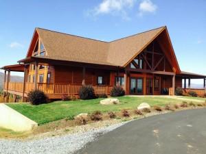 Pisgah lodge Timber Block North Carolina