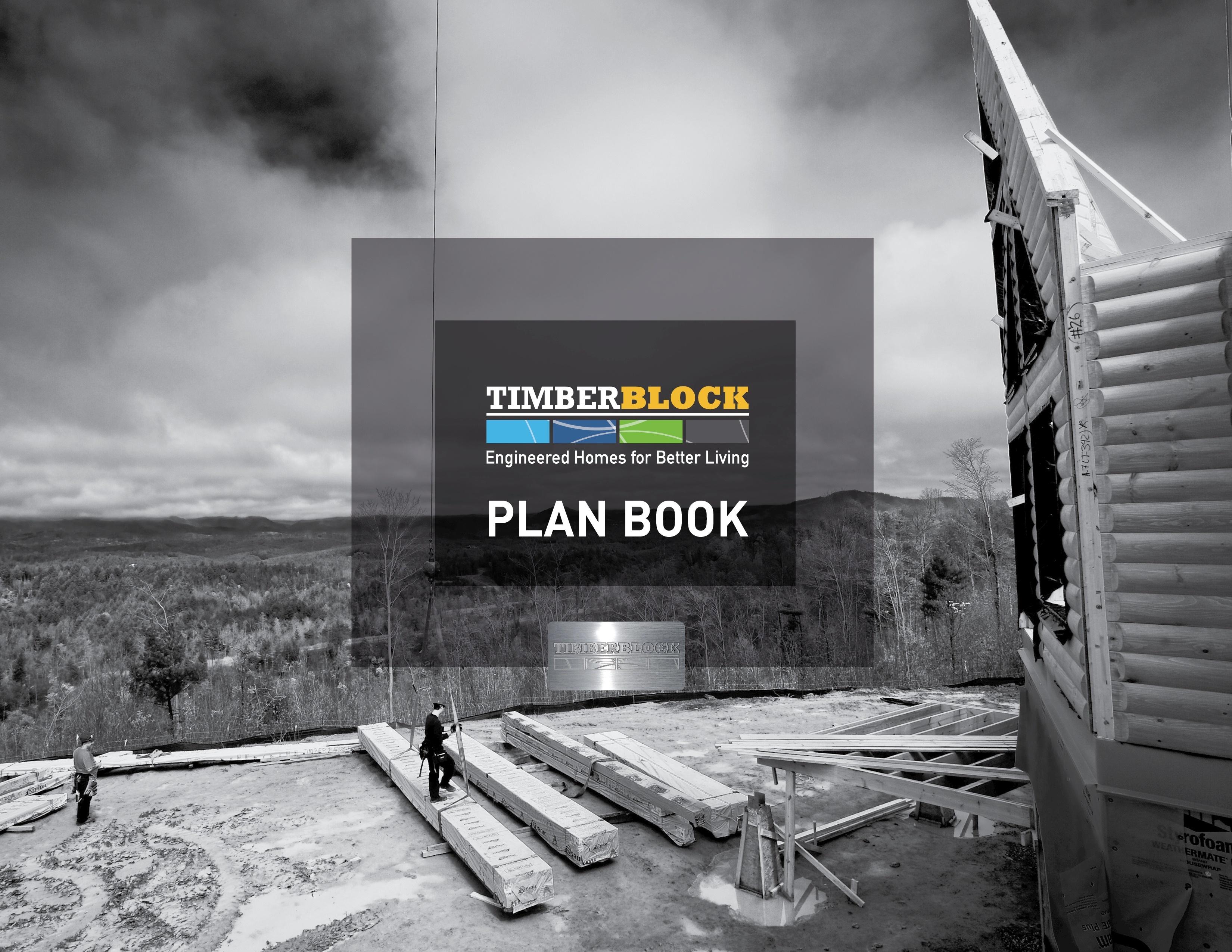 home building floor plan book timber block
