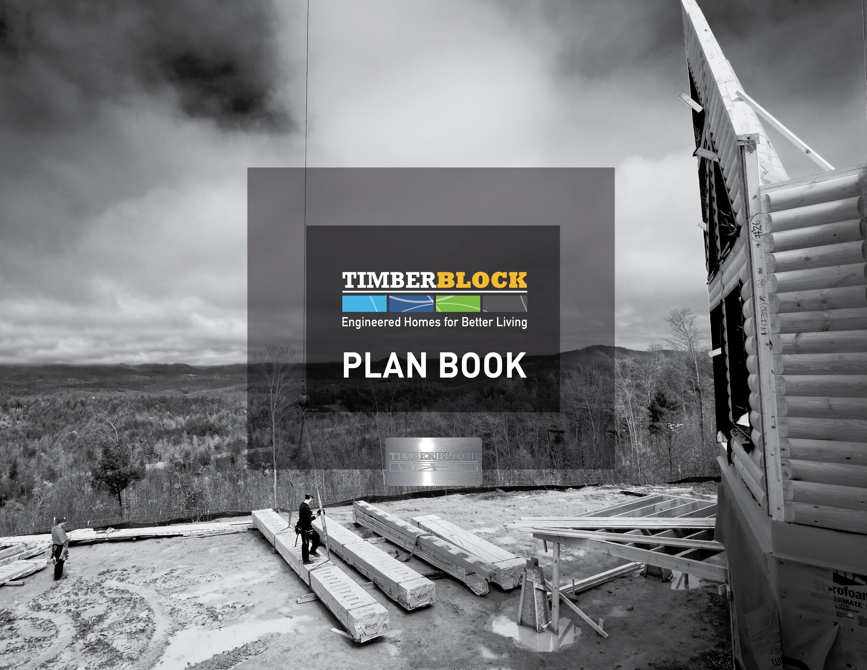 home building floor plan book timber block