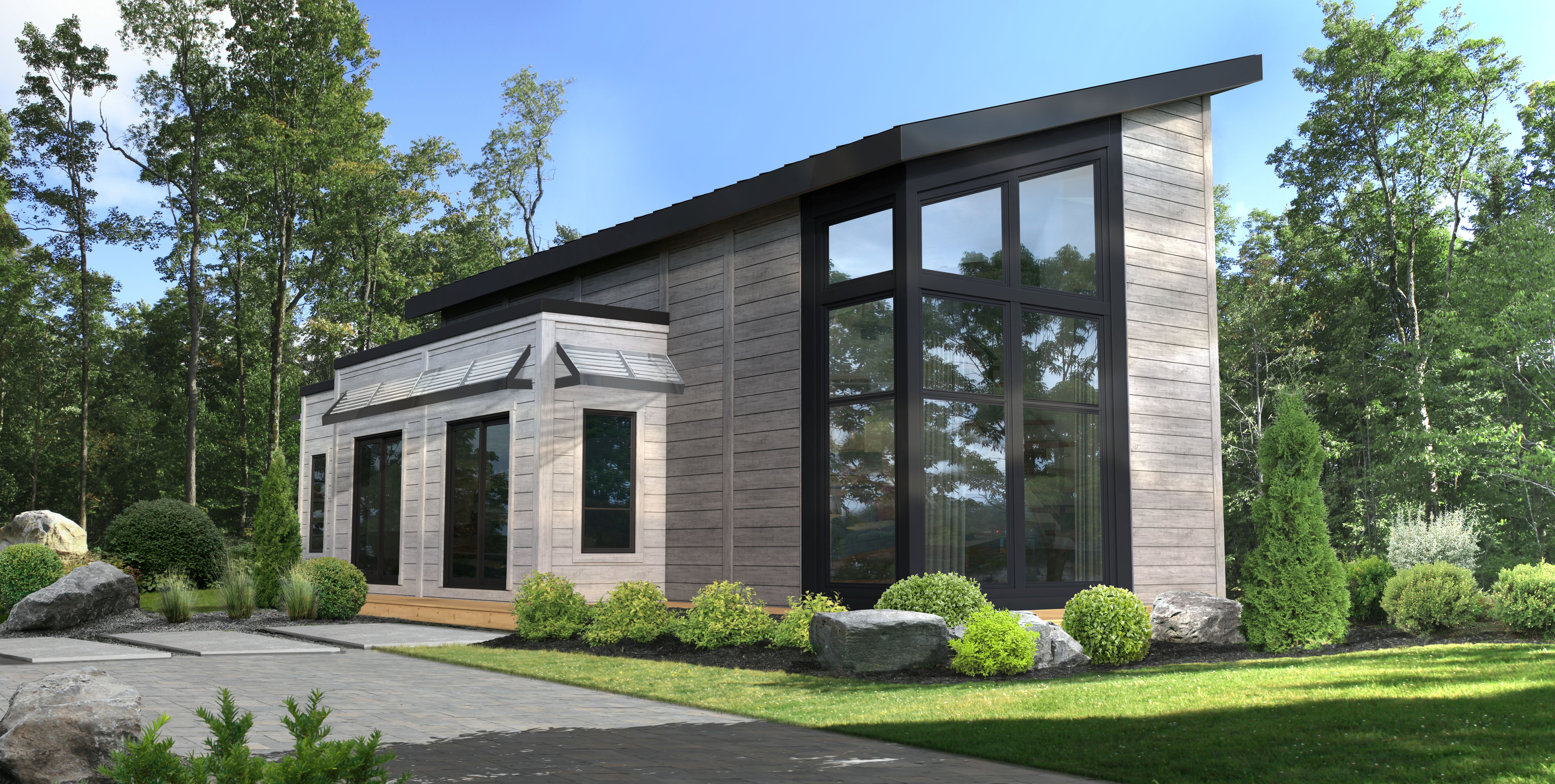 Timber Block Sanford Contemporary Home