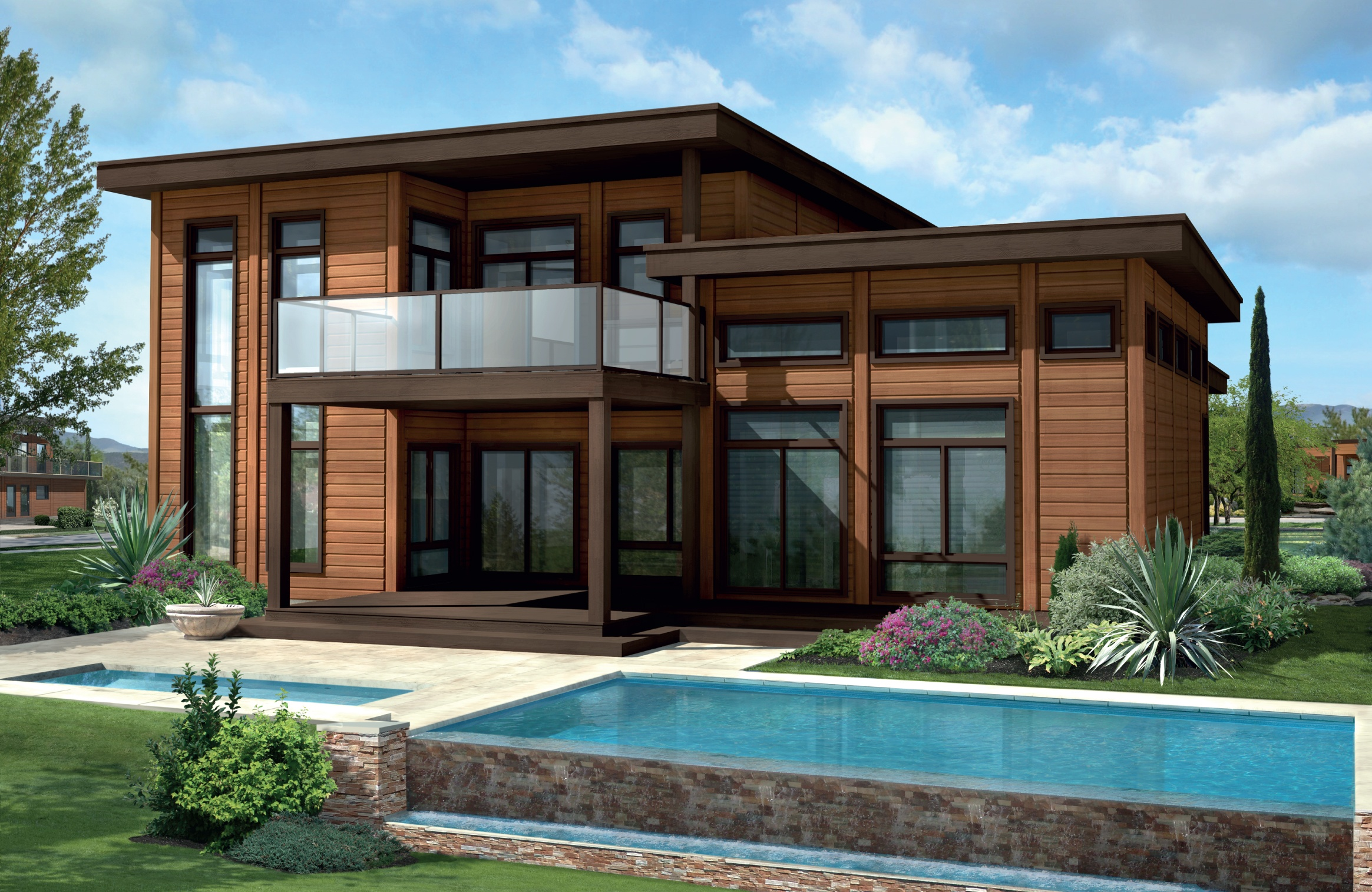 Timber Block Sierra Vista Model Home