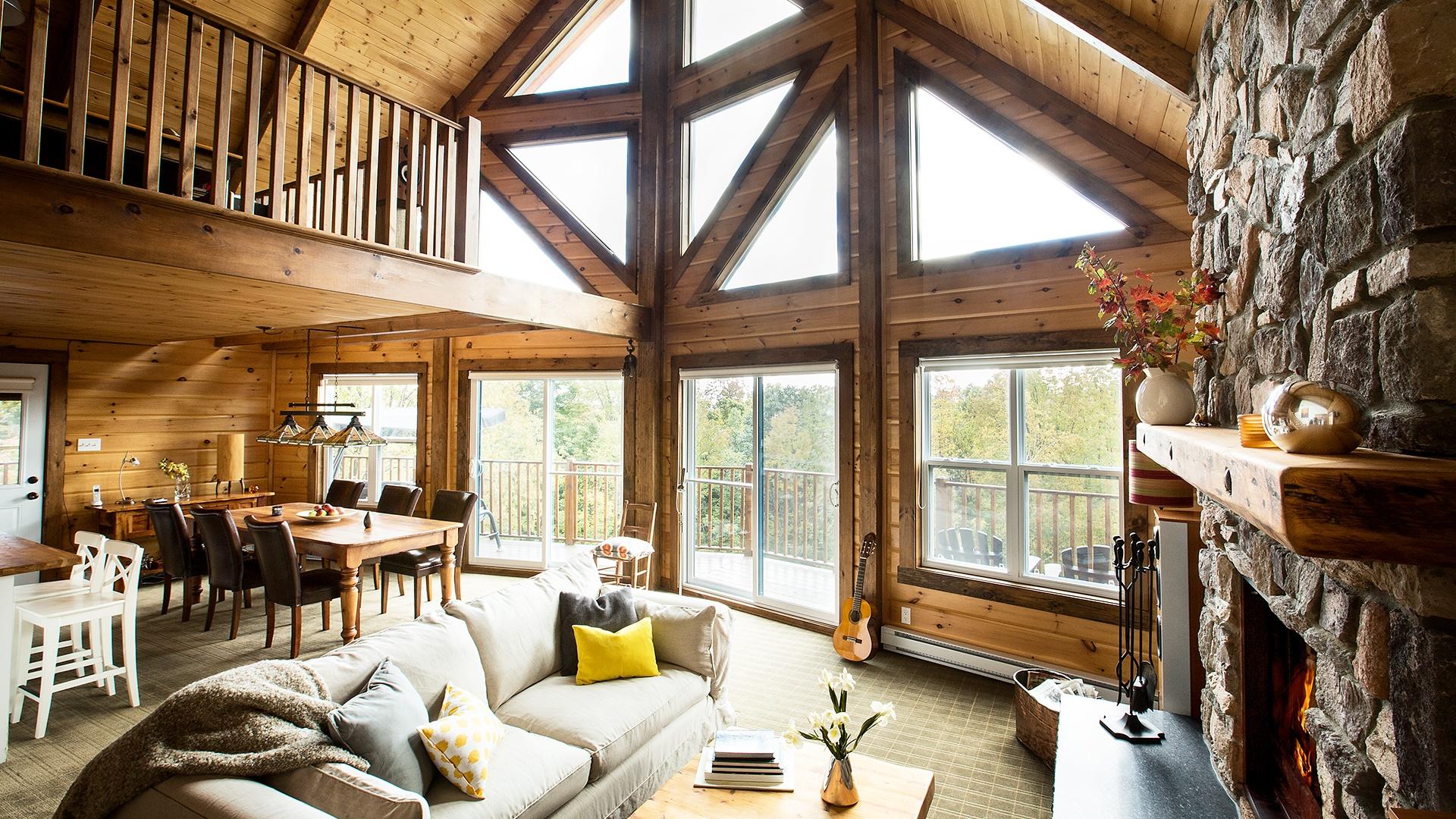 Timber Block St Bernard home