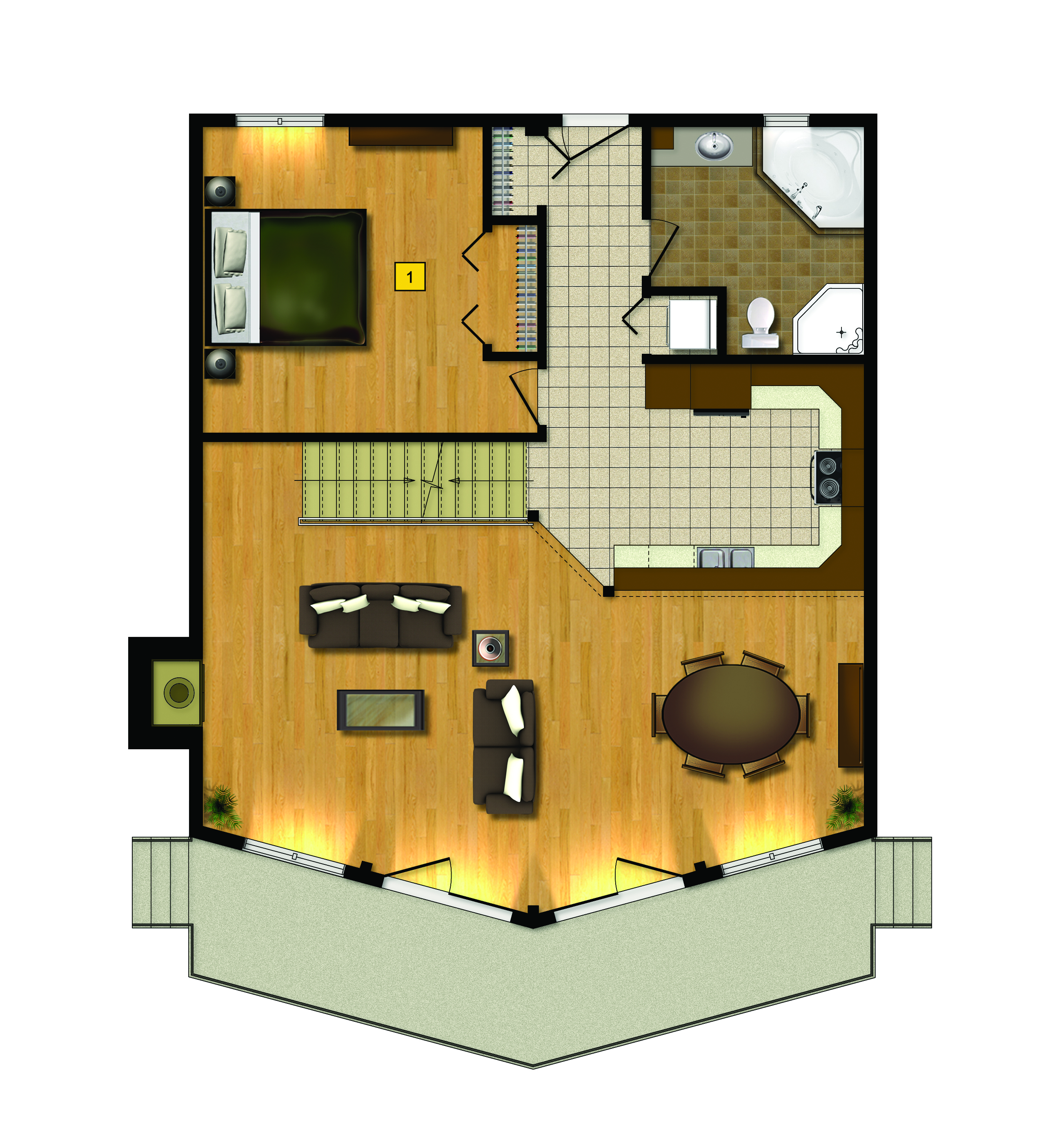 St Bernard Floor Plan 1