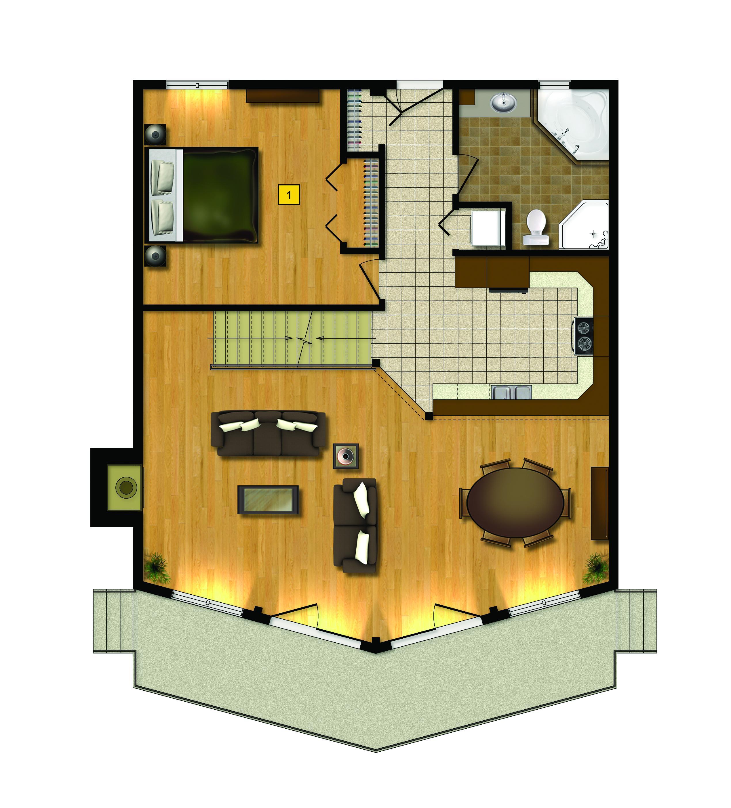 St Bernard Floor Plan 1