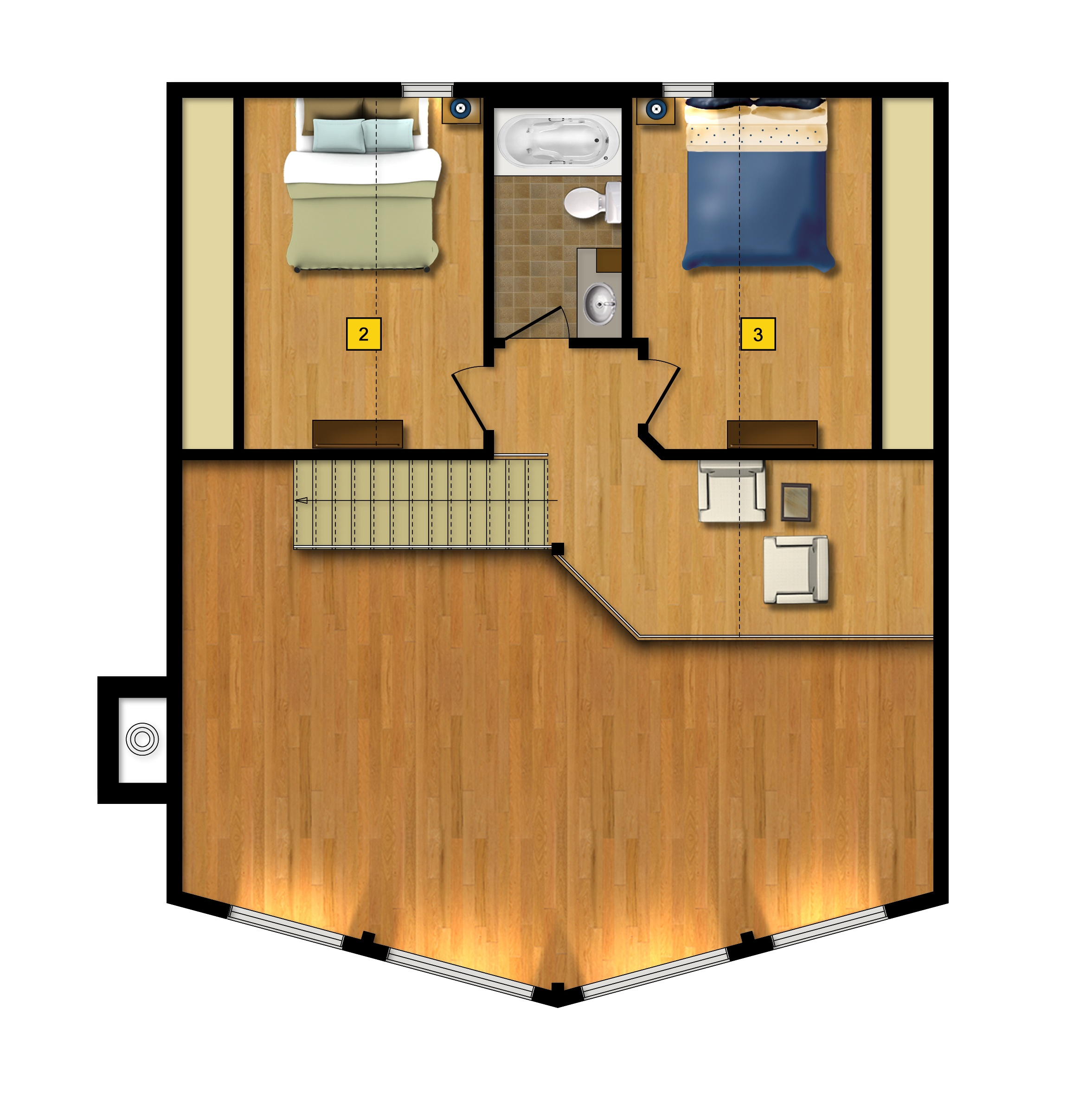 St Bernard floor plan 2