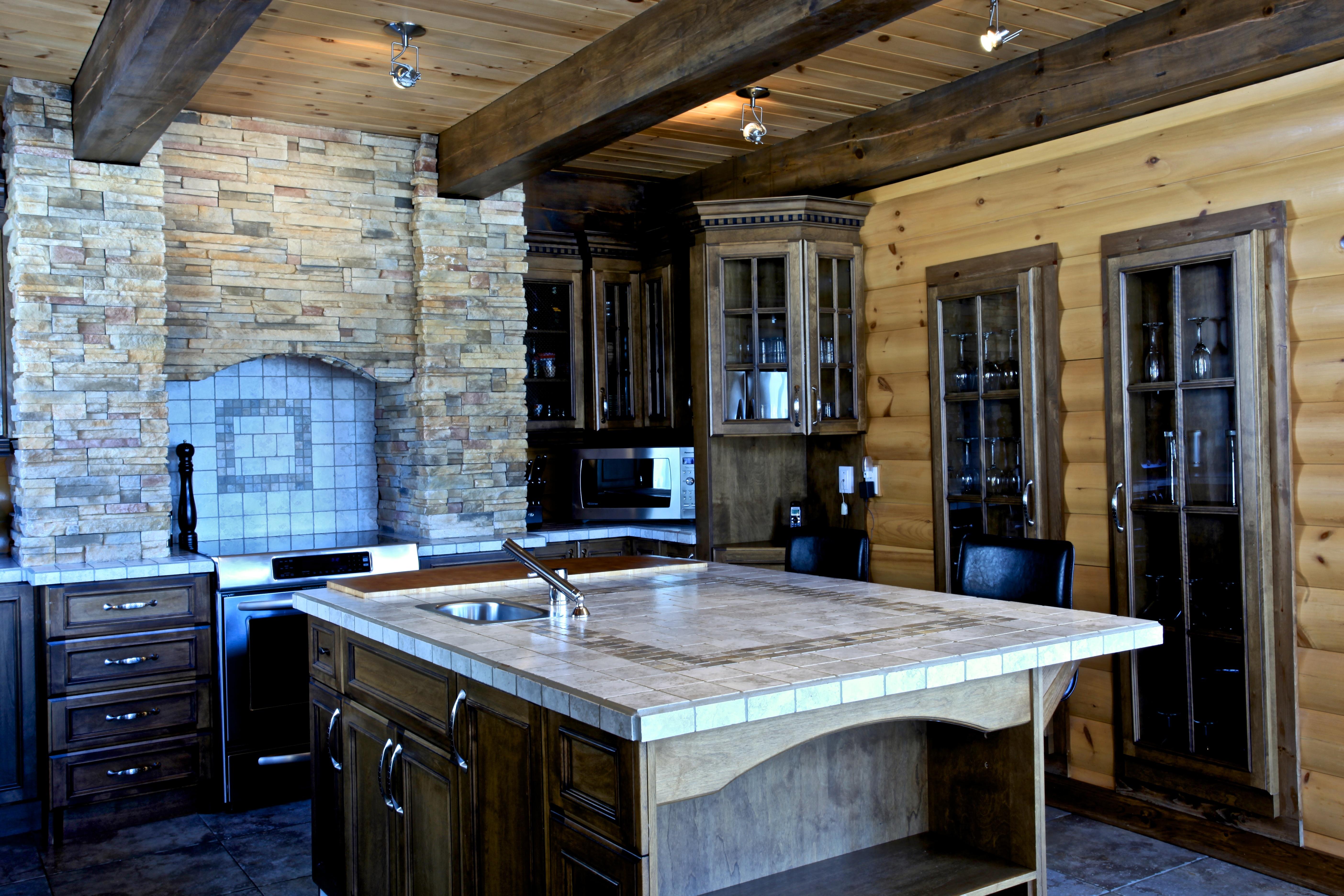 Kitchen Design Timber Block Wood Home