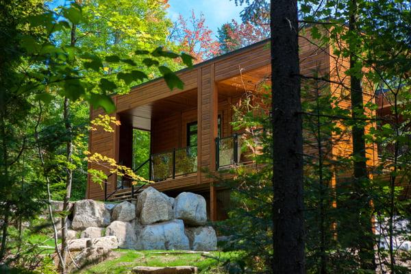 Sun Lakes Contemporary Timber Block