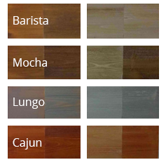 Timber Block Engineered Homes Colors