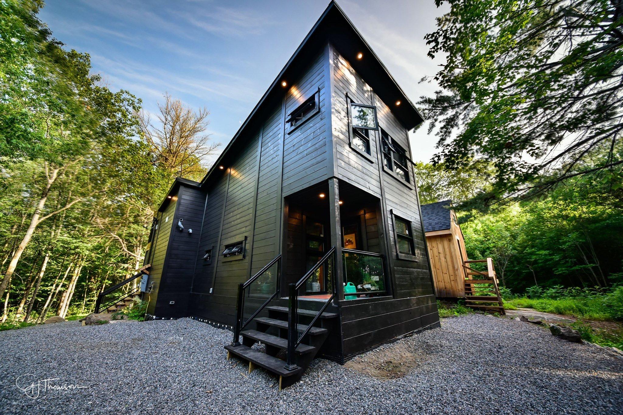 Timber Block Tiny House Tiny Haus