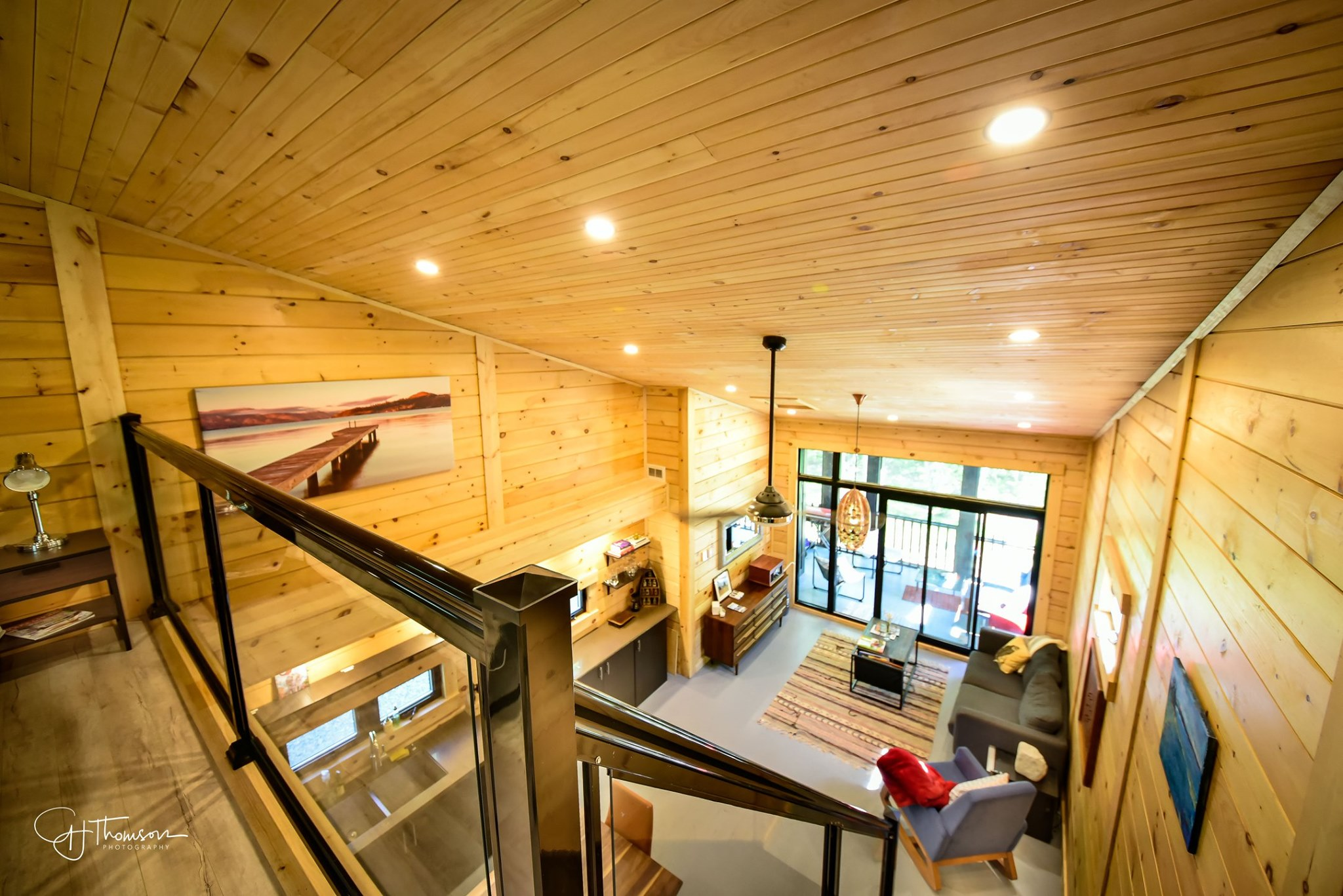 Timber Block Tiny Home from loft