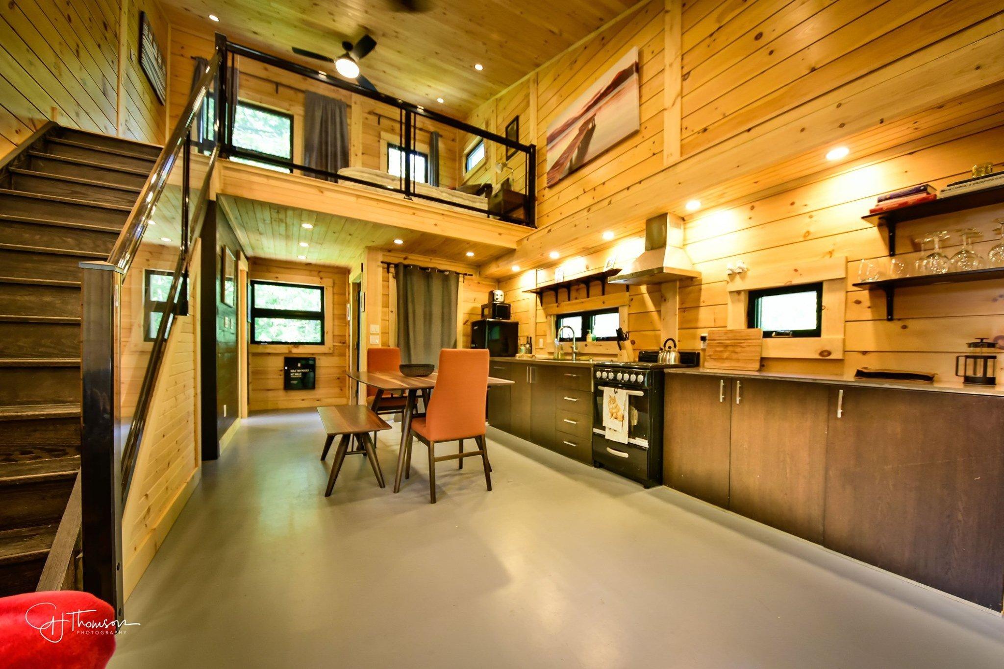 Timber Block Tiny Home Ontario