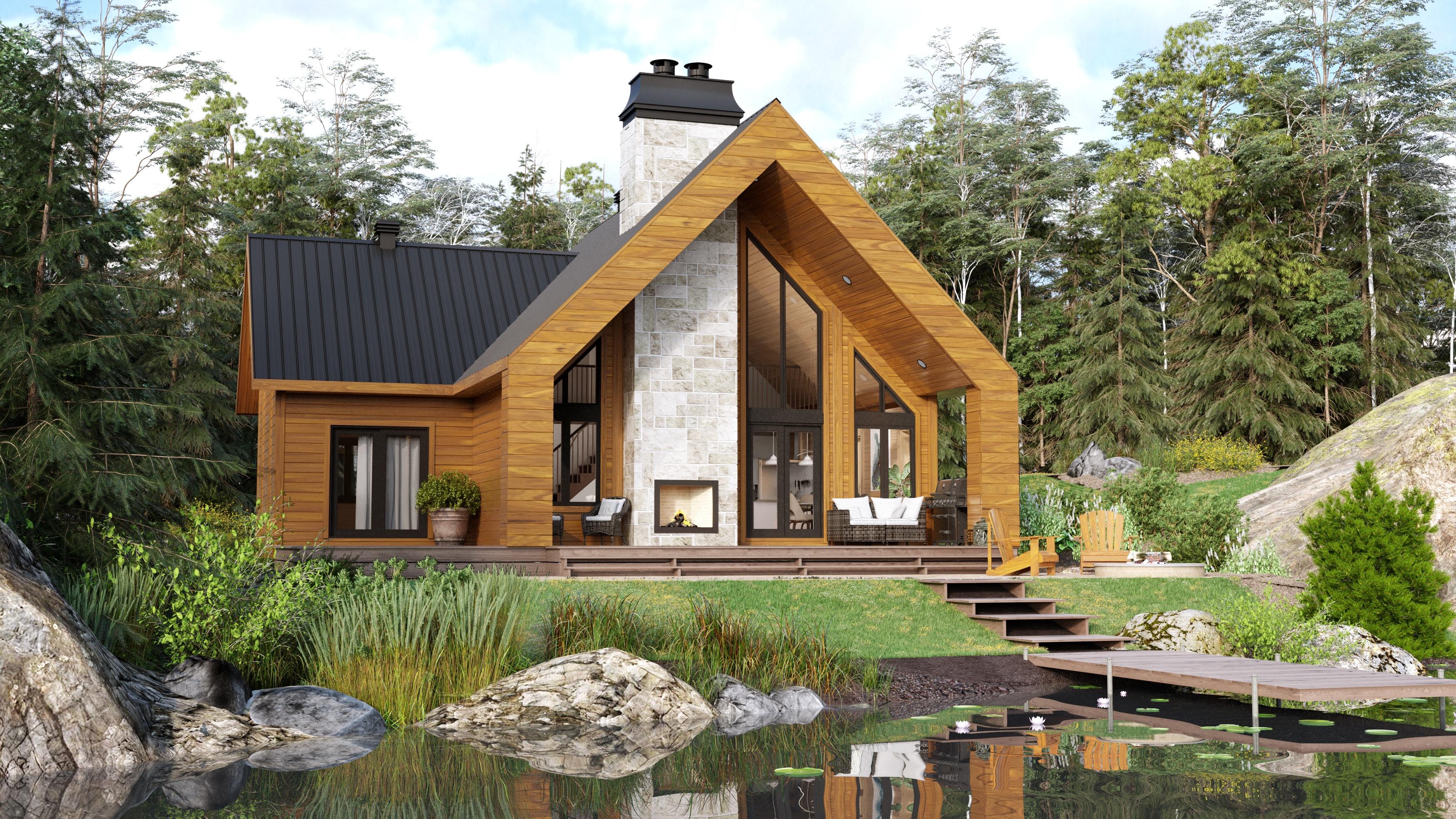 Eastman Timber Block model Classic Home