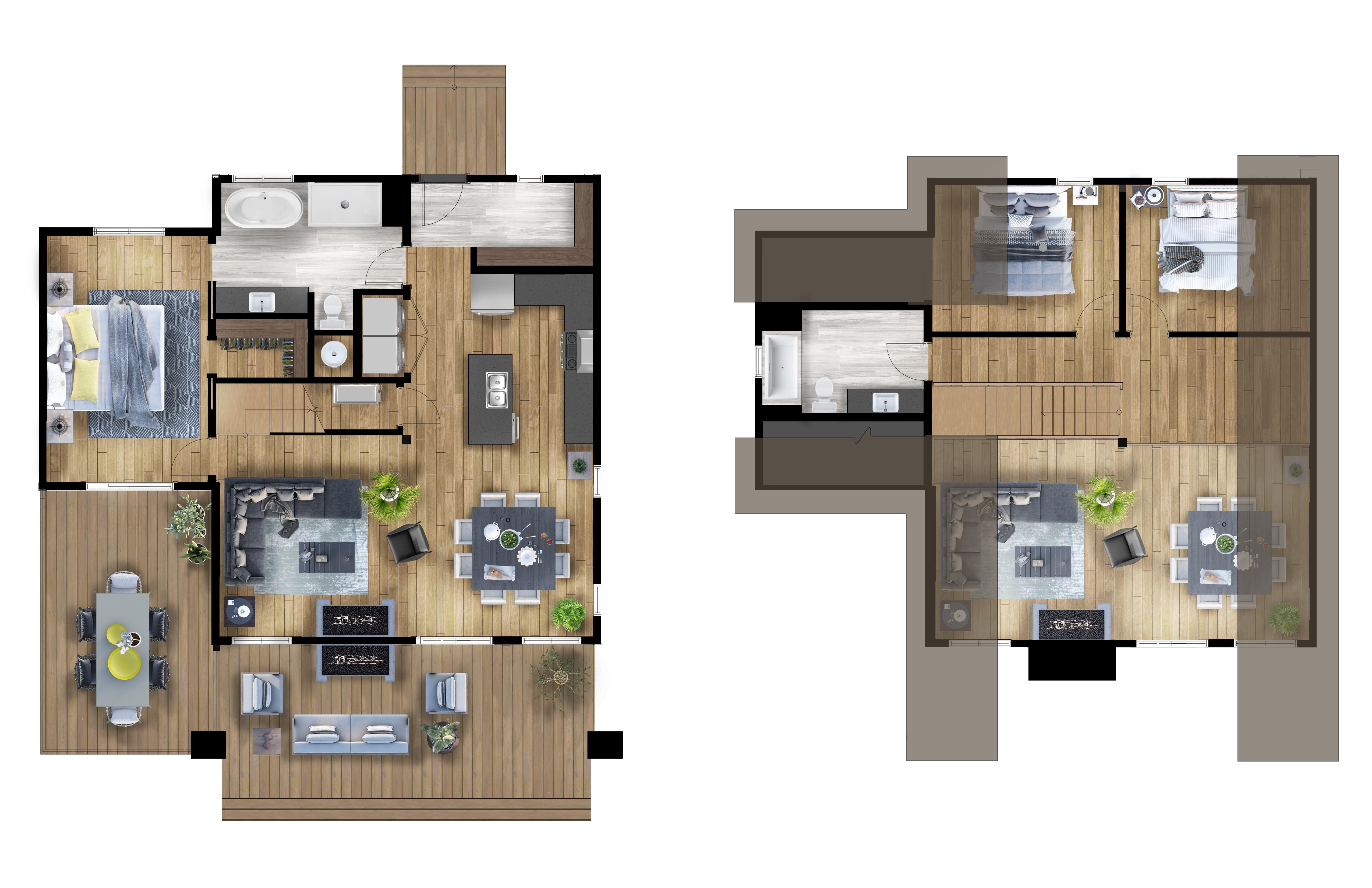 Timber Block Eastman Classic Home Floor Plan