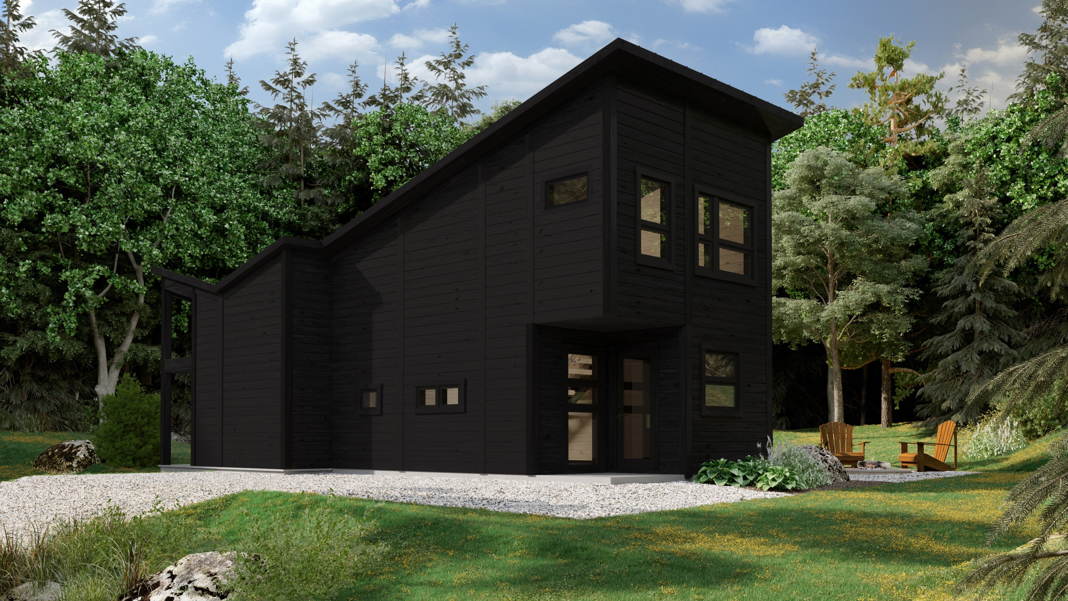 Tiny House Timber Block Ontario
