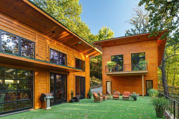 Timber Block Custom Contemporary home
