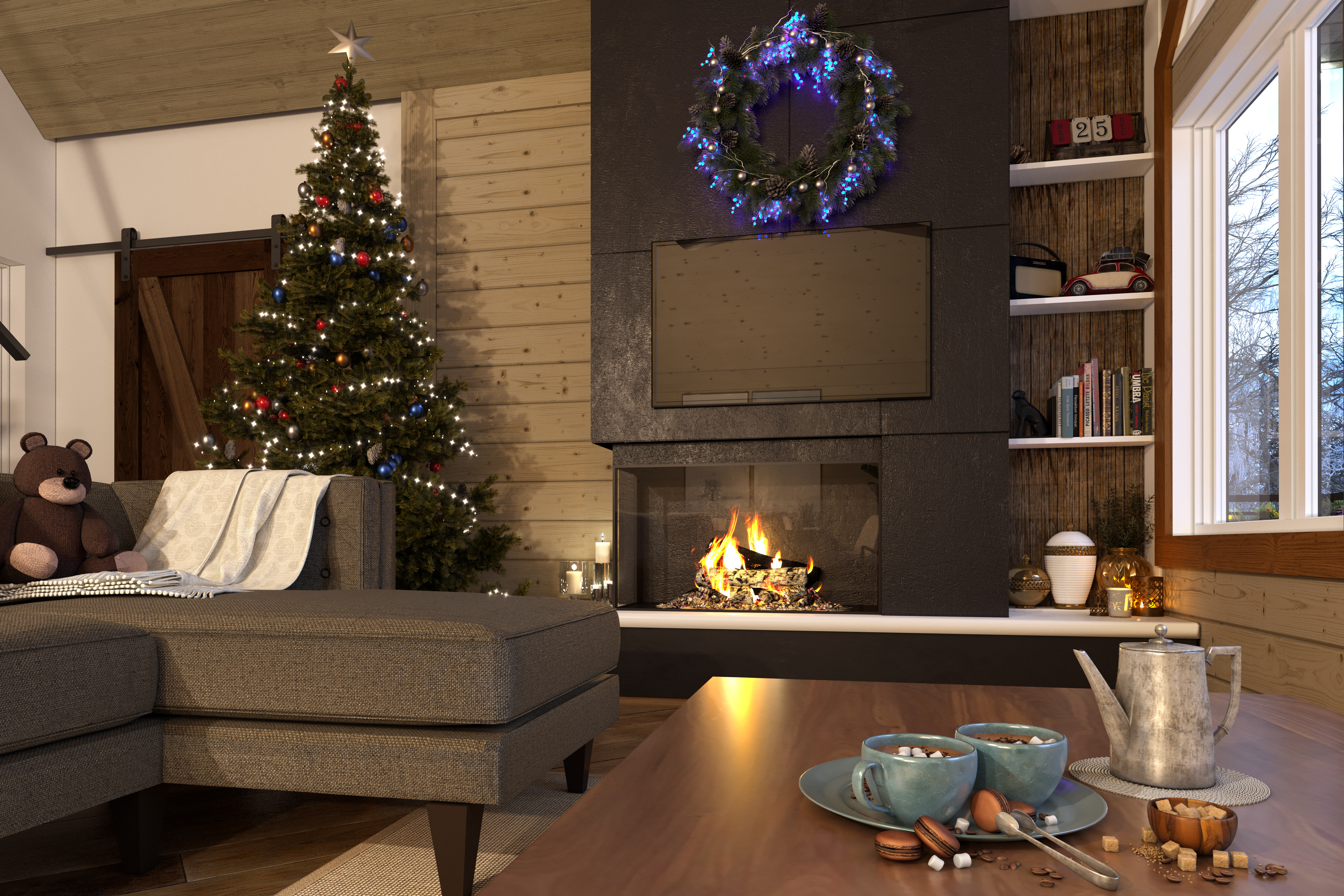 Wood pannel_ChristmasFIRE-1