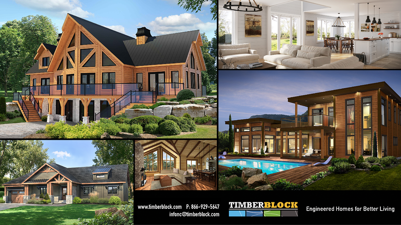 Timber Block homes classic vintage custom