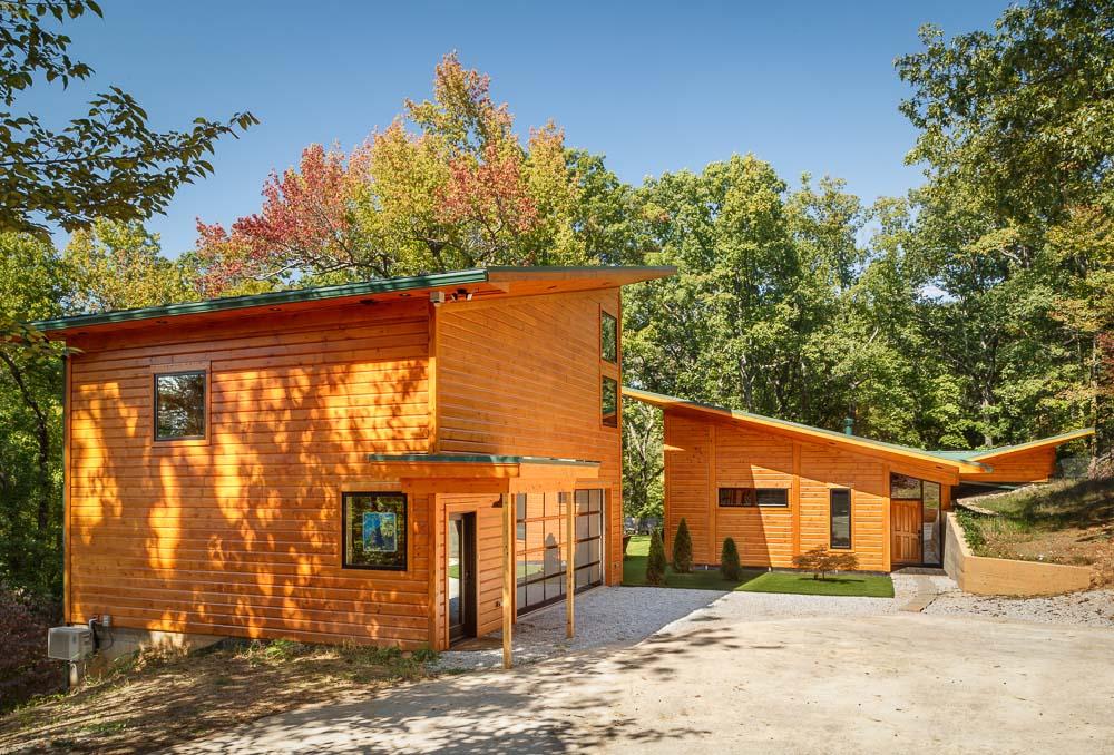 timber block home building custom