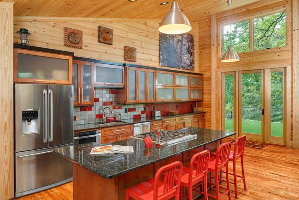 Timber Block Kitchen