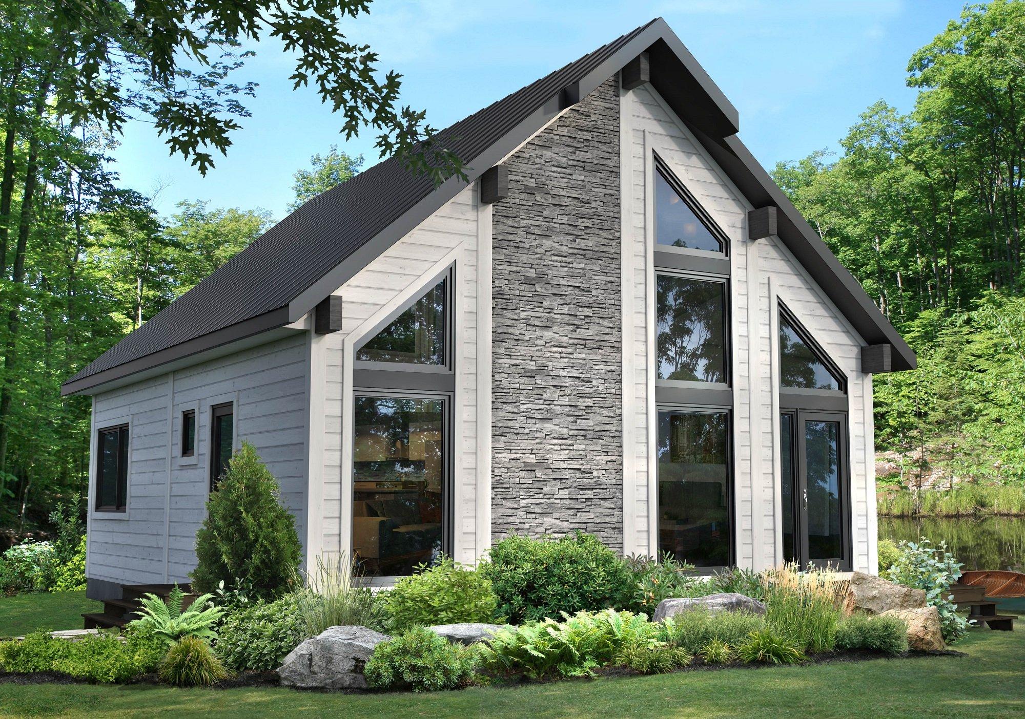 Timber Block Aspen Model