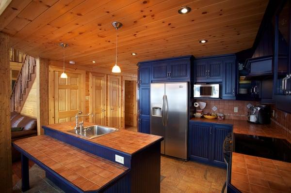 kitchen design home interior timber block
