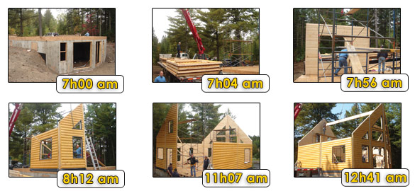 Timber Block Construction