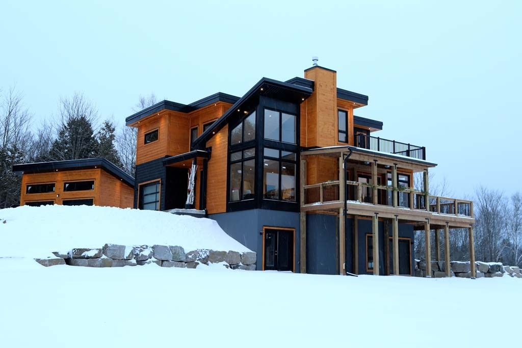 Timber Block Custom Contemporary