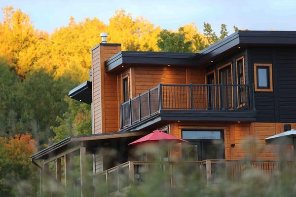 Timber Block Custom Home