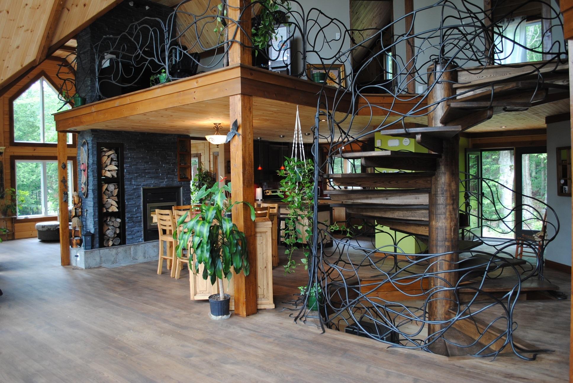 Custom Home Design Timber Block