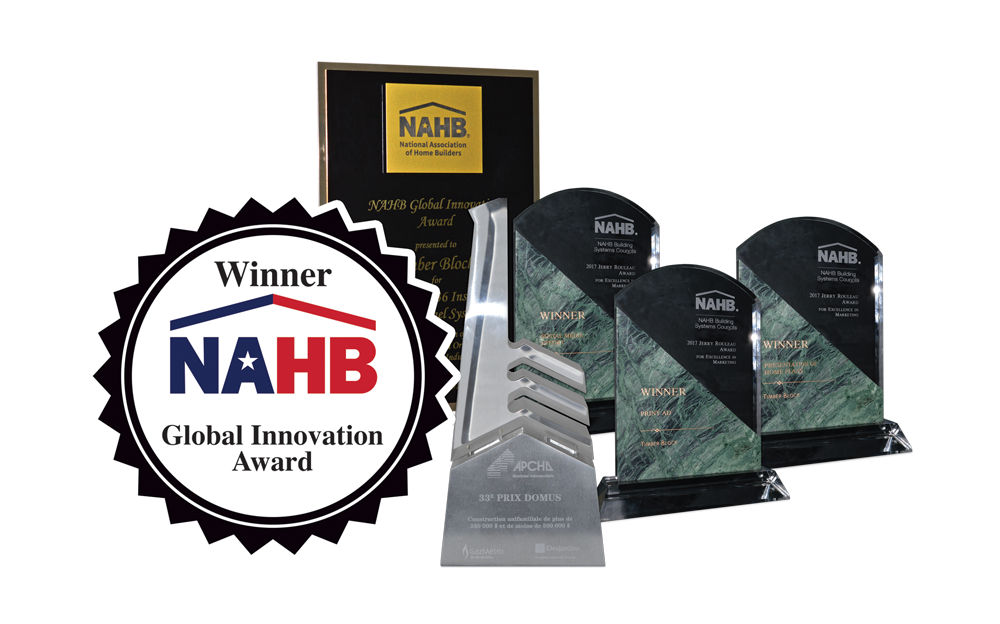 Timber Block NAHB Global Innovation award