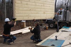 Timber Block electrical