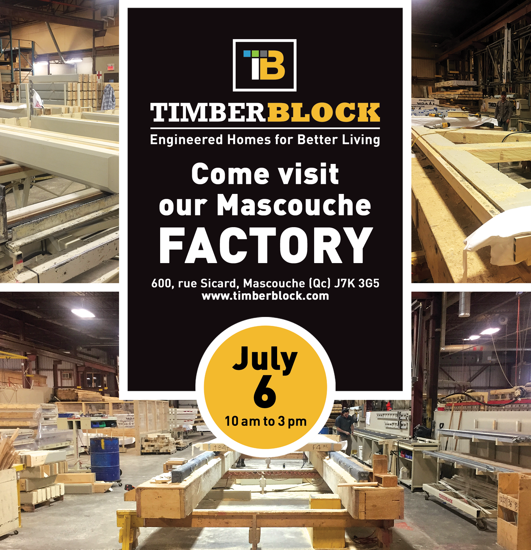 Timber Block Factory Tour