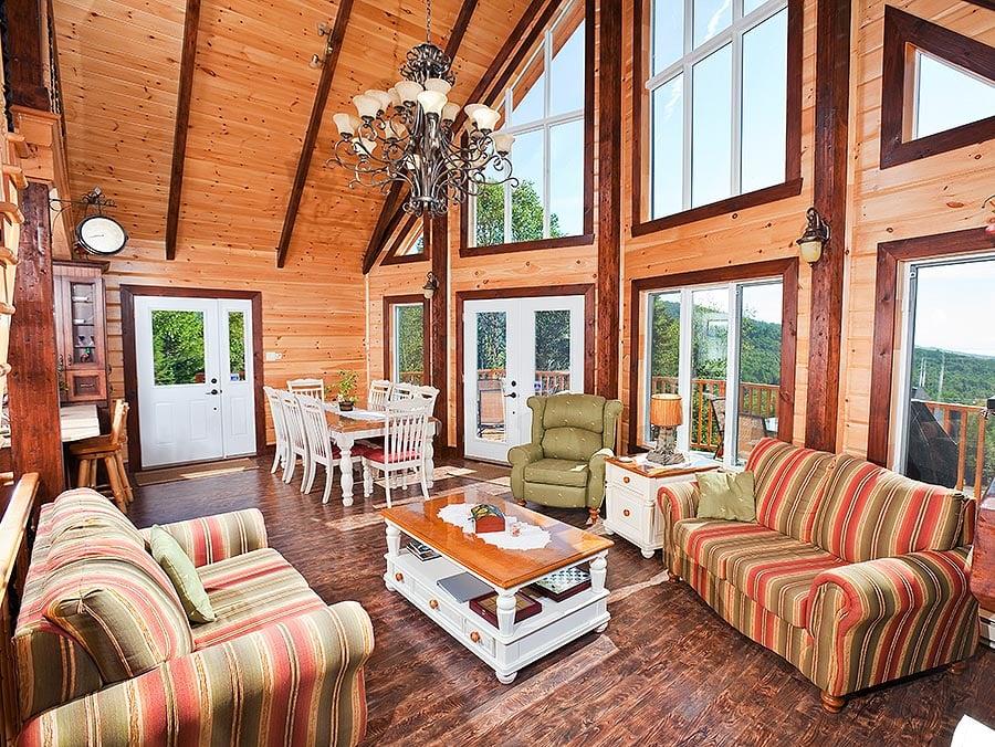 Timber Block classic interior design