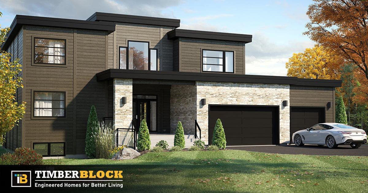 Timber Block Ontario Custom Contemporary