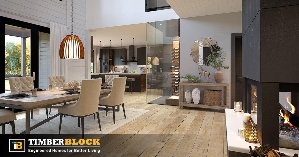 Timber Block Ontario custom home