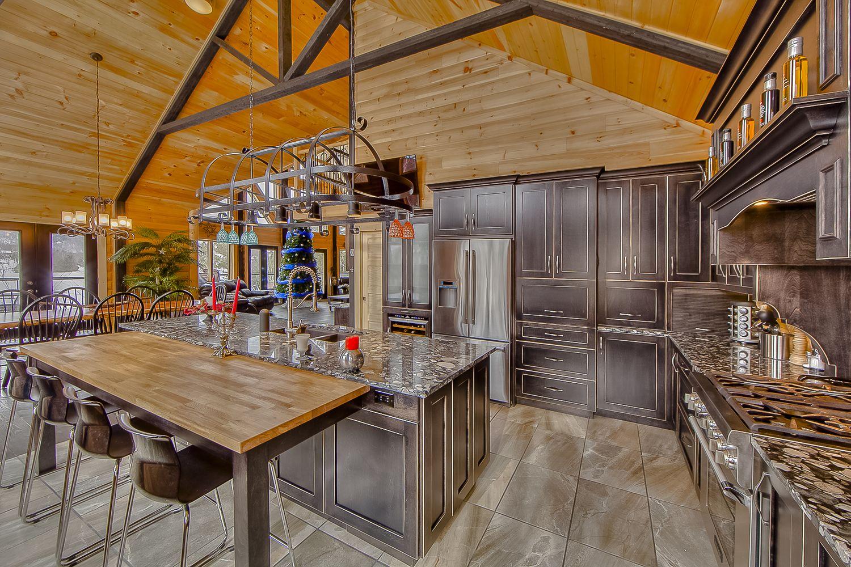 Timber Block Open Floor Plan