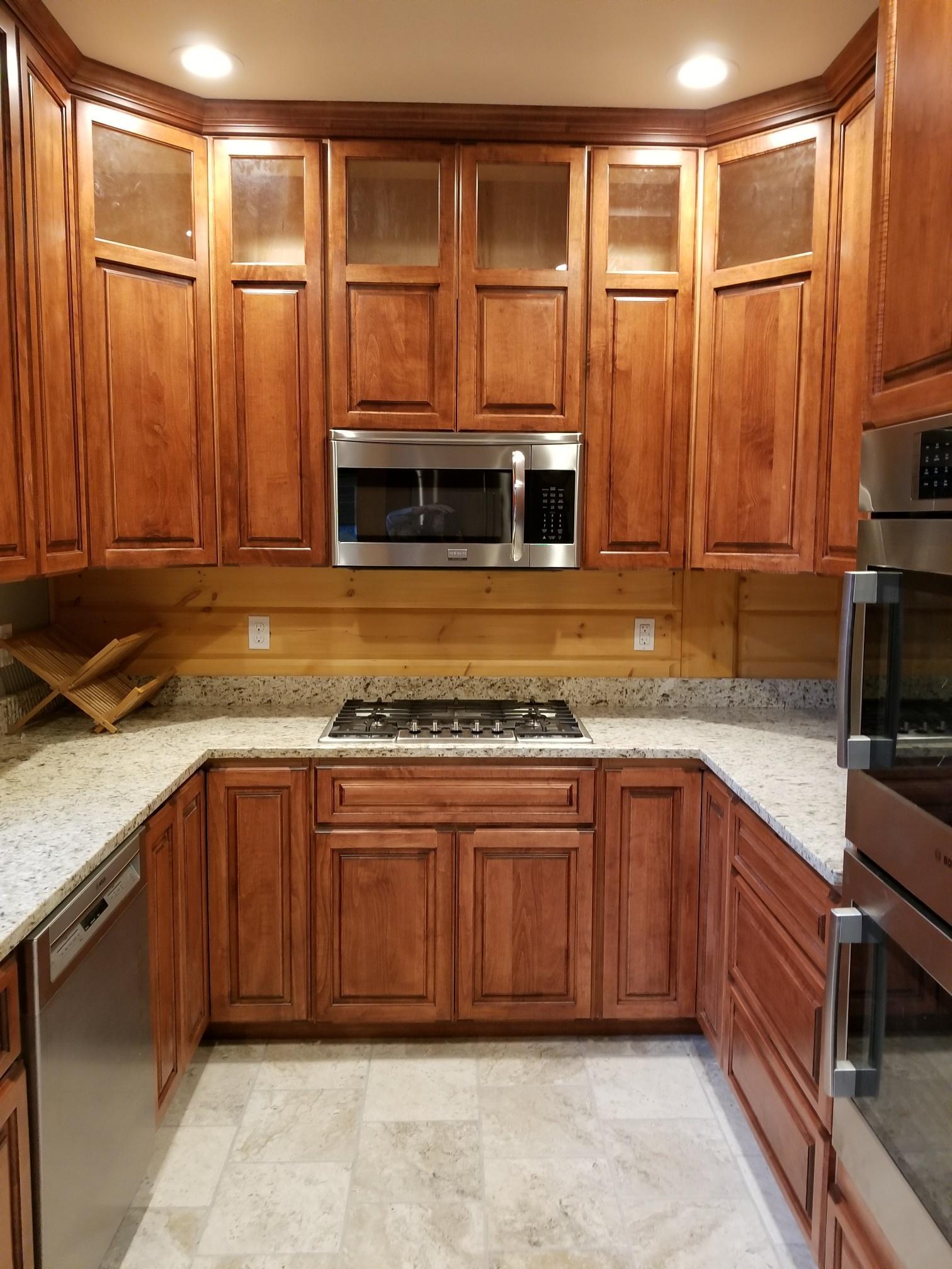 Timber Block Log Kitchen Home