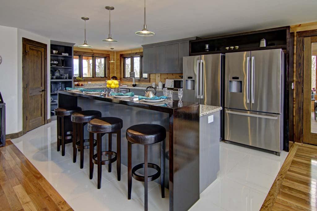 Timber Block kitchen interior