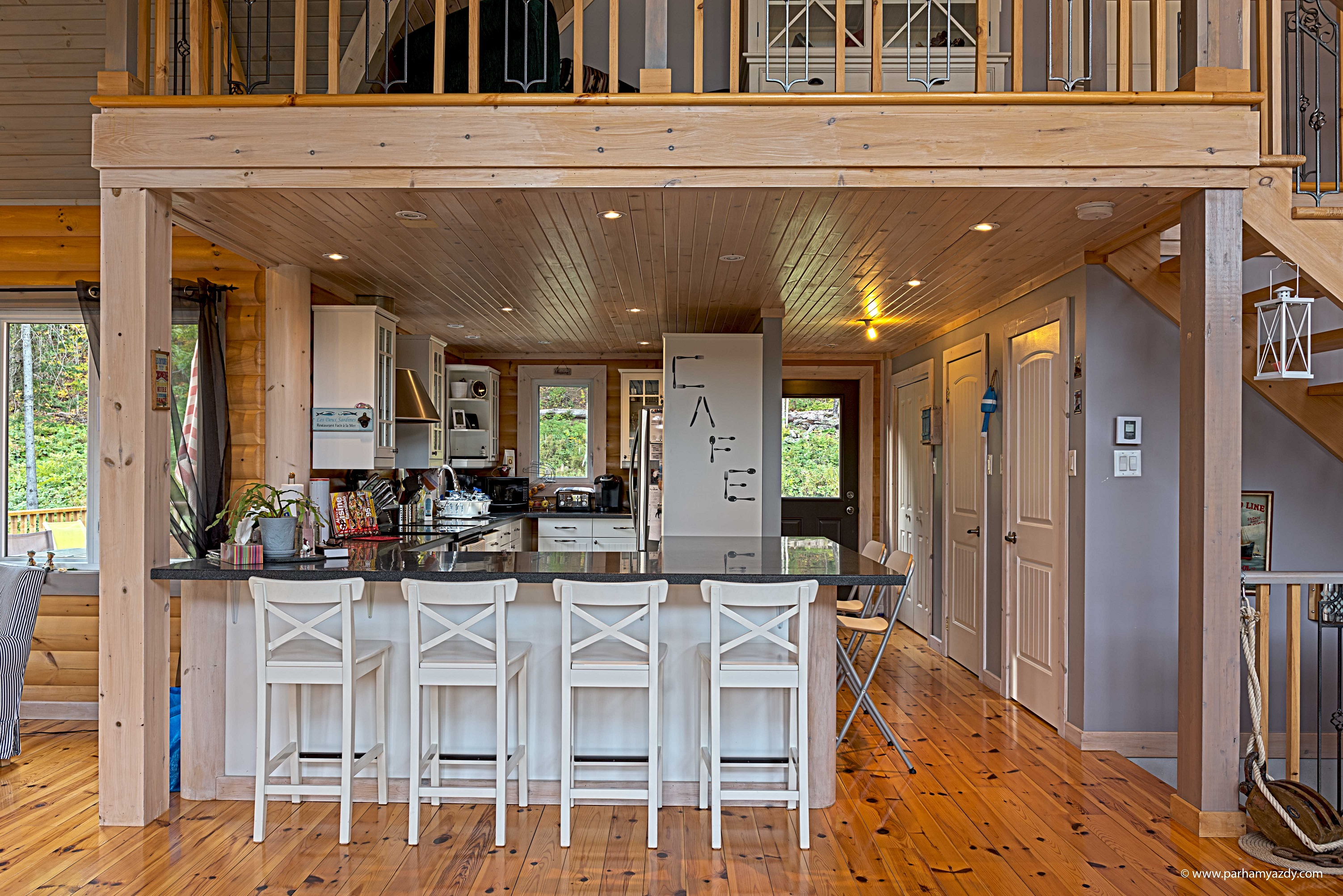 Timber Block cottage living