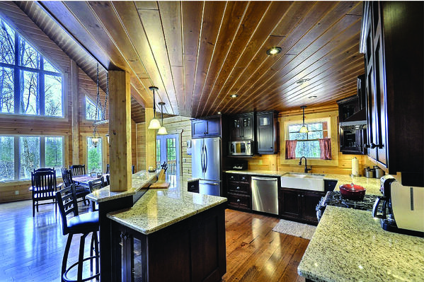 Timber Block Kitchen design