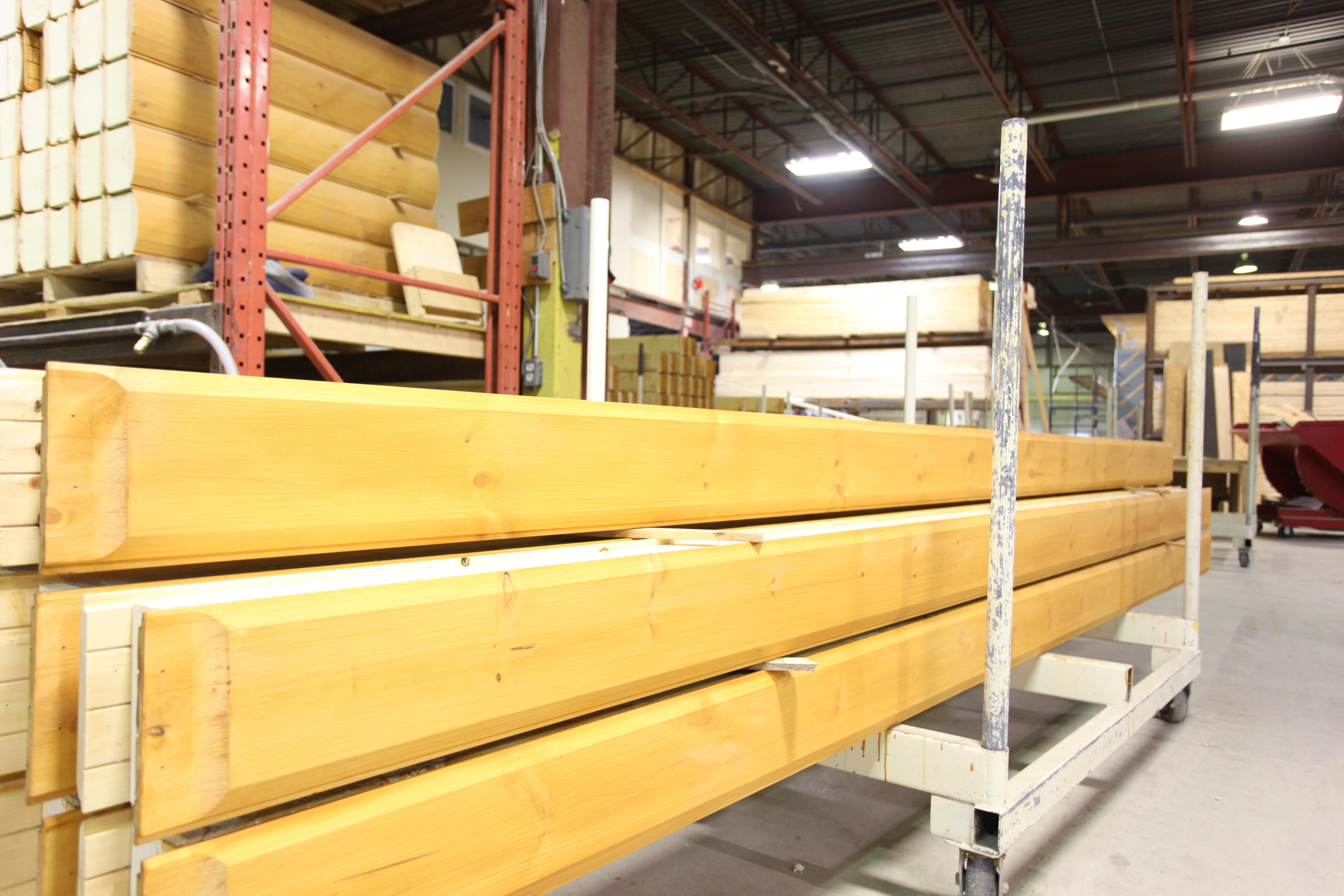 Timber Block factory