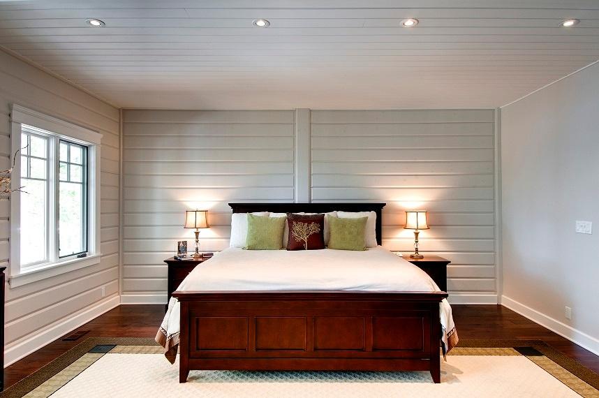 Timber Block master bedroom