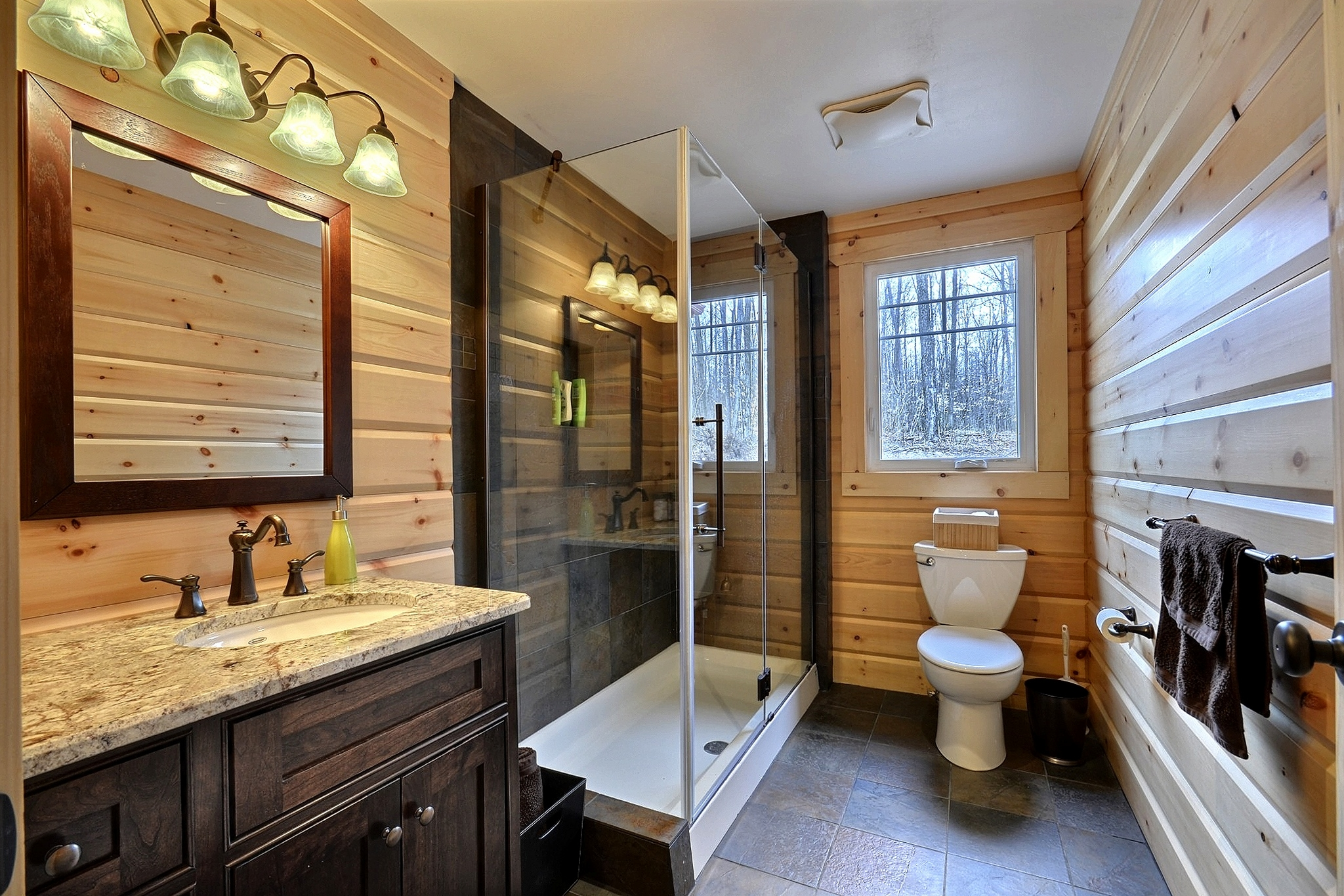 Timber Block Fairmont master bath